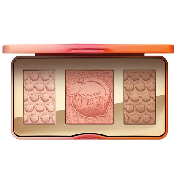 Too Faced Sweet Peach Glow Highlight Face Palette